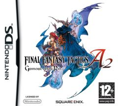 Jaquette de Final Fantasy Tactics A2 : Grimoire of the Rift DS