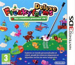 Jaquette de Freakyforms Deluxe Nintendo 3DS