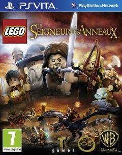 Jaquette de LEGO Le Seigneur des Anneaux PS Vita
