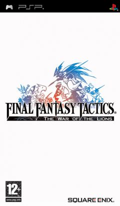 Jaquette de Final Fantasy Tactics : The War of the Lions PSP