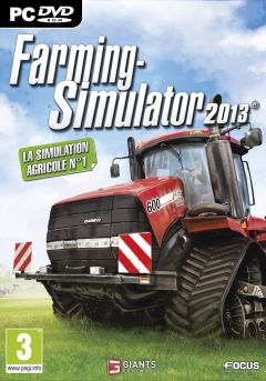 Jaquette de Farming Simulator 2013 PC