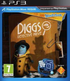 Jaquette de Wonderbook : Diggs Détective Privé PlayStation 3