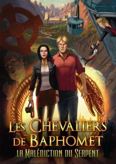 Jaquette de Les Chevaliers de Baphomet 5 : La Malédiction du Serpent (Episode 1) iPad