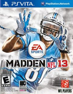 Jaquette de Madden NFL 13 PS Vita