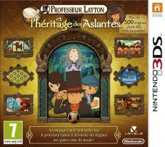 Jaquette de Professeur Layton et l'Héritage des Aslantes Nintendo 3DS