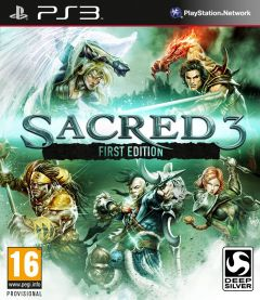 Jaquette de Sacred 3 PlayStation 3