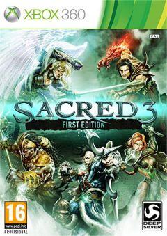 Jaquette de Sacred 3 Xbox 360