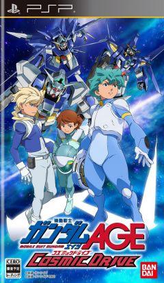Jaquette de Mobile Suit Gundam AGE : Cosmic Drive PSP