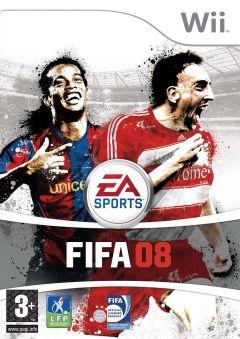 Jaquette de FIFA 08 Wii