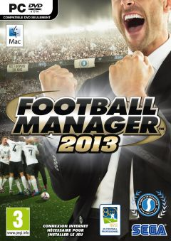 Jaquette de Football Manager 2013 Mac