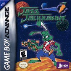 Jaquette de Jazz JackRabbit Game Boy Advance