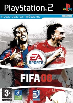 Jaquette de FIFA 08 PlayStation 2