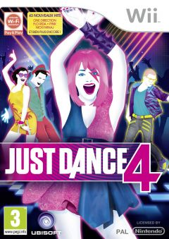 Jaquette de Just Dance 4 Wii
