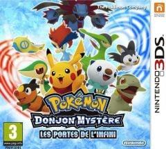 Jaquette de Pokémon Donjon Mystère : Les Portes de l'Infini Nintendo 3DS