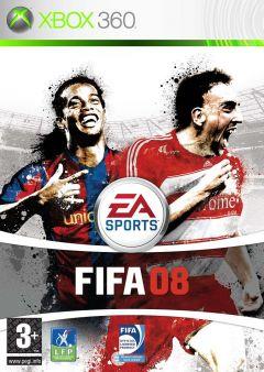 Jaquette de FIFA 08 Xbox 360