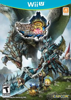 Jaquette de Monster Hunter 3 : Ultimate Wii U