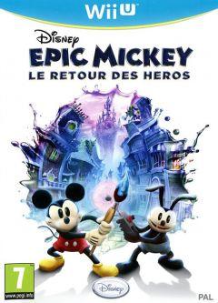 Jaquette de Epic Mickey : Le Retour des Héros Wii U