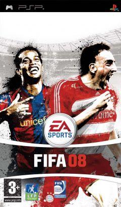 Jaquette de FIFA 08 PSP