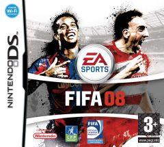 Jaquette de FIFA 08 DS