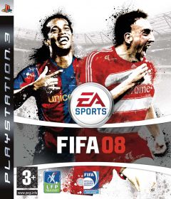 Jaquette de FIFA 08 PlayStation 3