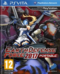 Jaquette de Earth Defense Force 2017 PS Vita