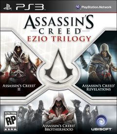 Jaquette de Assassin's Creed : Ezio Trilogy PlayStation 3
