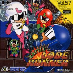 Jaquette de Battle Lode Runner PC Engine