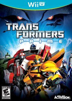 Jaquette de Transformers Prime Wii U
