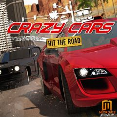 Jaquette de Crazy Cars Hit the Road Mac