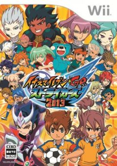 Jaquette de Inazuma Eleven Go Strikers 2013 Wii