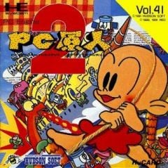 Jaquette de Bonk's Revenge PC Engine