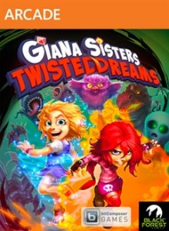 Jaquette de Giana Sisters : Twisted Dreams Xbox 360