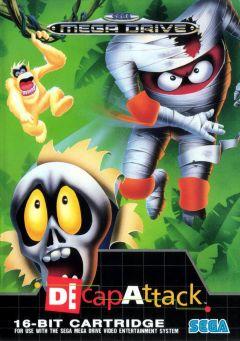 Jaquette de Decap Attack Mega Drive