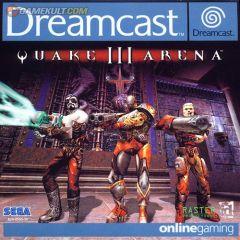 Jaquette de Quake 3 Arena Dreamcast