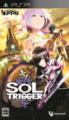 Jaquette de Sol Trigger PSP