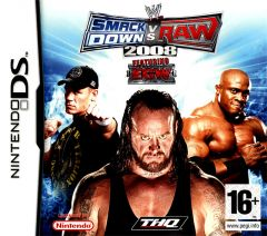 Jaquette de WWE Smackdown Vs. Raw 2008 DS