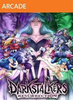 Jaquette de Darkstalkers Resurrection Xbox 360