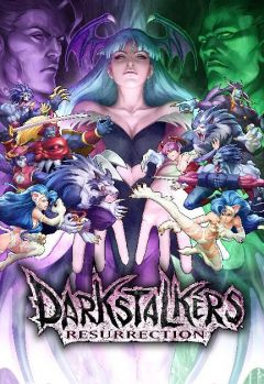 Jaquette de Darkstalkers Resurrection PlayStation 3
