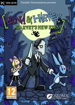 Jaquette de Edna & Harvey : Harvey's New Eyes PC
