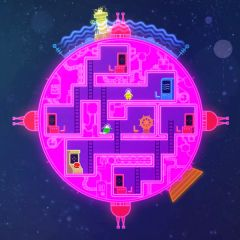 Jaquette de Lovers In A Dangerous Spacetime Mac