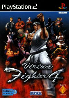 Jaquette de Virtua Fighter 4 PlayStation 2
