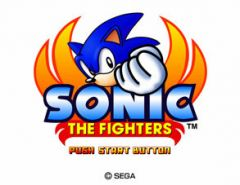 Jaquette de Sonic the Fighters Arcade