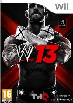 Jaquette de WWE'13 Wii