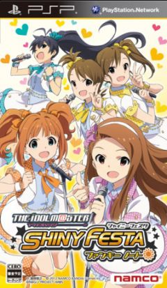 Jaquette de The Idolmaster Shiny Festa : Funky Note PSP
