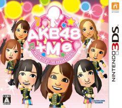 Jaquette de AKB48 + Me Nintendo 3DS