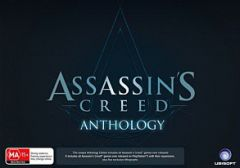 Jaquette de Assassin's Creed : Anthology PlayStation 3