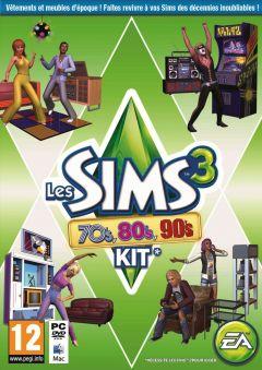 Jaquette de Les Sims 3 70's 80's 90's PC