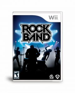 Jaquette de Rock Band Wii