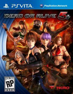 Jaquette de Dead or Alive 5 PS Vita