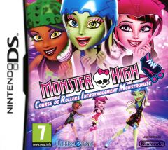 Jaquette de Monster High : Course de Rollers Incroyablement Monstrueuse DS